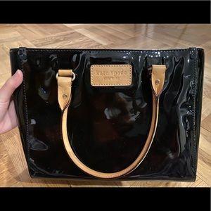 Kate Spade Paton Leather Black Bag